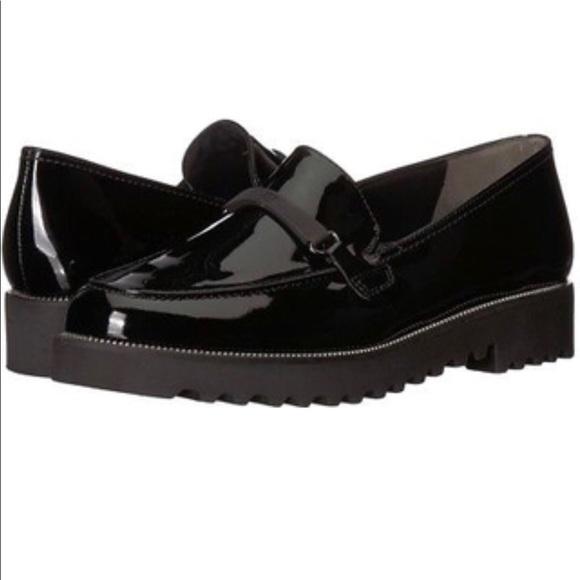 893954f2856 Paul green black nox loafers sz 5.5 UK. M 5a91ff009cc7ef0240110bbb